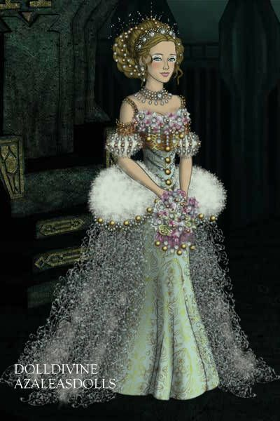 Wedding gown by inanna created using the lotr for Places to donate wedding dresses