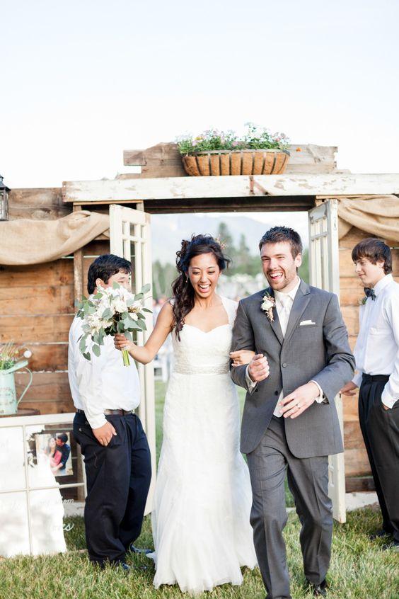 Sky Ridge Ranch Wedding  Read more - http://www.stylemepretty.com/2013/12/16/sky-ridge-ranch-wedding/: