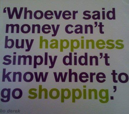 shopping, yeah!