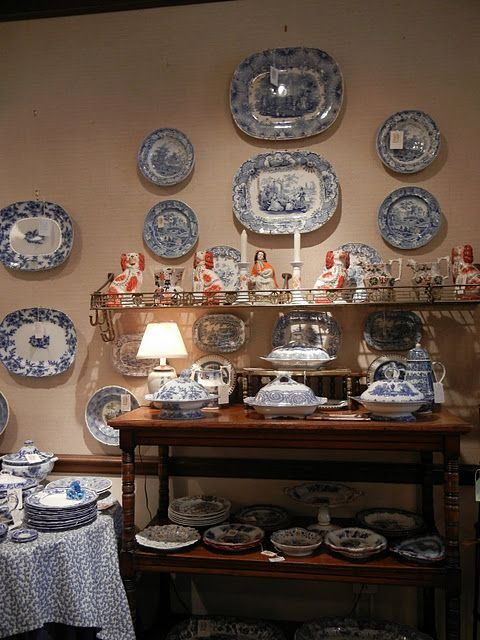 Beautiful transferware