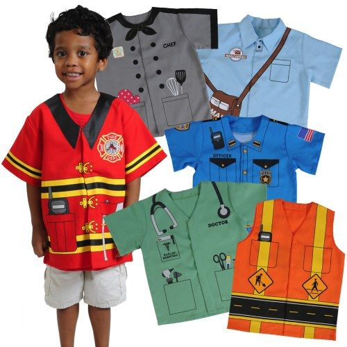 Community Dress Ups Preschool Set Set Of 6 Polyester Dramatic Play Costumes Dress Up Outfits Diy Costumes Kids Dramatic Play