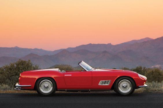 dream car // 1958 Ferrari GT California Spyder by Scaglietti