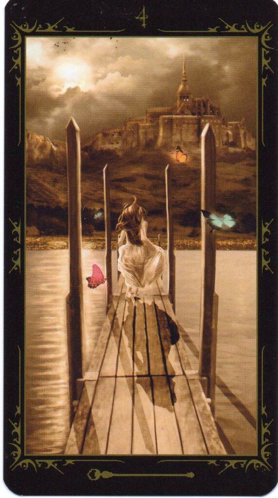 Card of the Day – 4 of Wands – Sunday, August 2, 2015 « Tarot by Cecelia