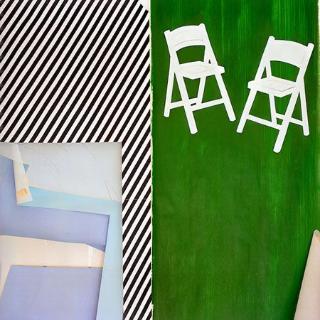 Inside Roy Lichtenstein's Studio.
