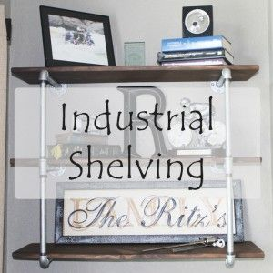 Industrial Bookshelves - Gloriously Made