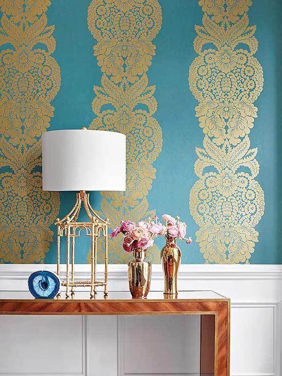 أفكار وتصاميم مميزة لورق الحائط Amazing Wallpaper Ideas