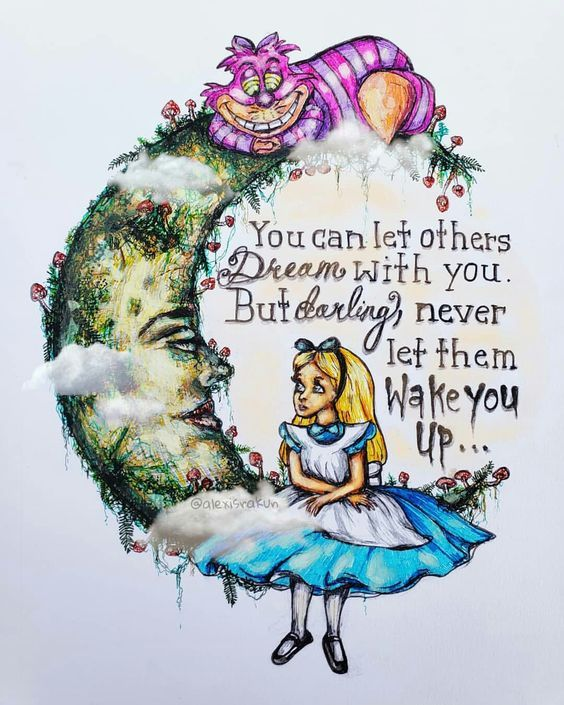 Alice In Wonderland Clipart Set Watercolor Alice Clip Art Images