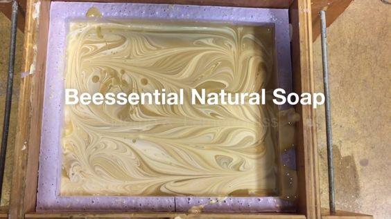Making 80 pound Hemp Soap