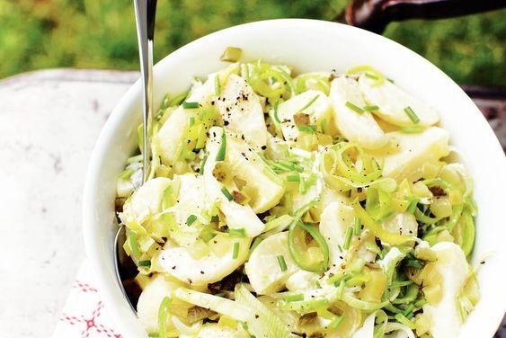 Kijk wat een lekker recept ik heb gevonden op Allerhande! Aardappelsalade met mierikswortel: