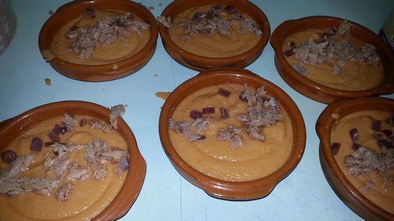 Uno de nuestros típicos platos. Porra antequerana.