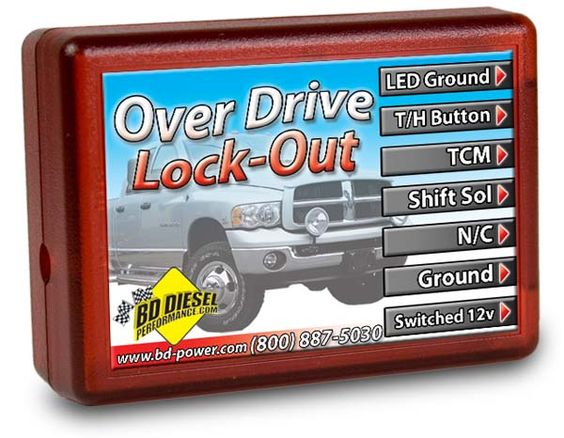 BD Power Performance OverDrive LockOut Dodge Cummins 5.9L 2005
