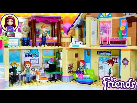 Mia S House Renovations Continued Home Office Living Room Extension Lego Friends Build Diy Craft Youtube Lego Friends Sets Lego Friends Lego House