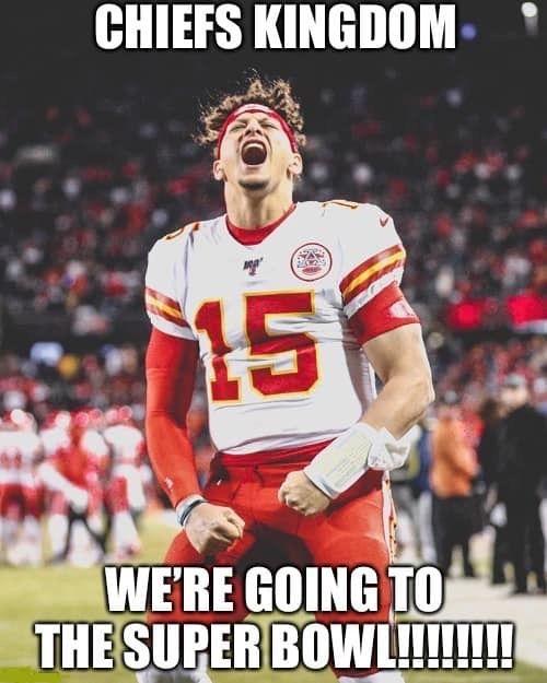 Were Going To The Super Bowl What A Dream In 2021 Kansas City Chiefs Logo Kc Chiefs Football Kansas City Nfl