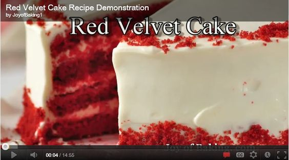 red velvet cake recipe from scratch