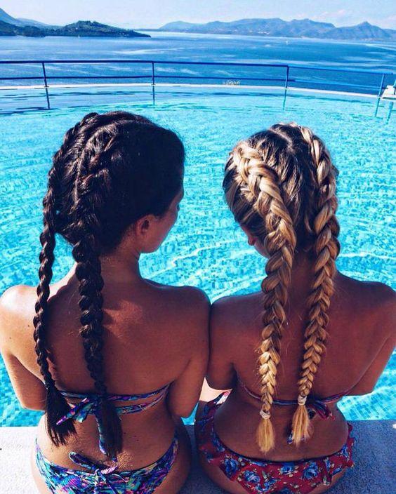 Double Dutch Braids   HAIR STYLING   Pinterest   Dutch ...