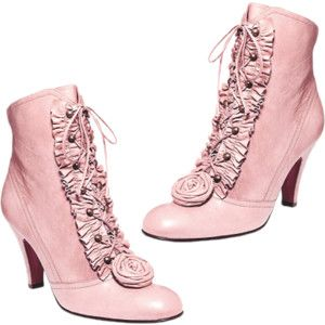 Lovely Pink Boots