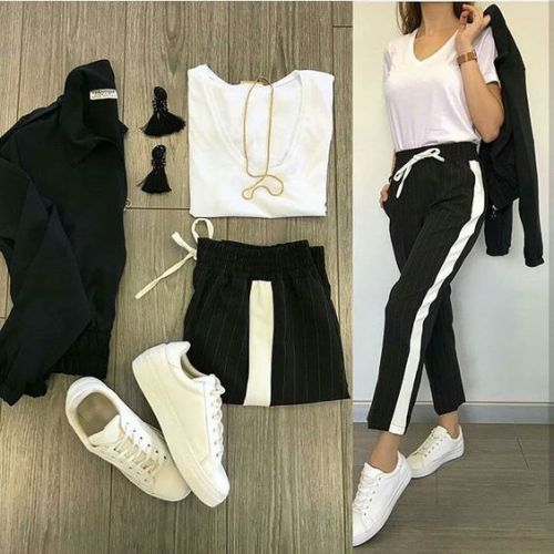 Spring Athleisure Outfits 2019 Just Trendy Girls Just Trendy Girls Moda Kiyafetler Tarz Moda Moda Stilleri