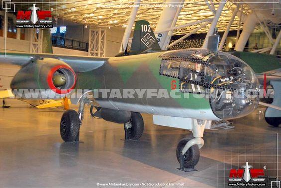 Arado Ar 234 (Blitz) - The German Arado Ar 234 Blitz became the first…