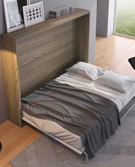 armoire lit escamotable horizontale