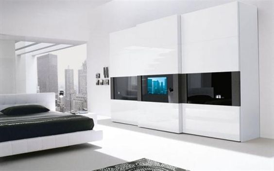 Black-and-White-Bedroom