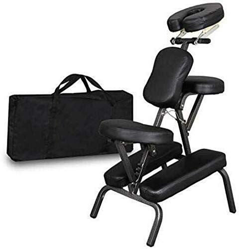 Best Seller Lordbee Massage Chair Tattoo Spa Salon Beauty Portable Adjustable Black Stool Parlor Folding Pu Leather Pad Online Spa Chair Massage Chair Relaxing Chair