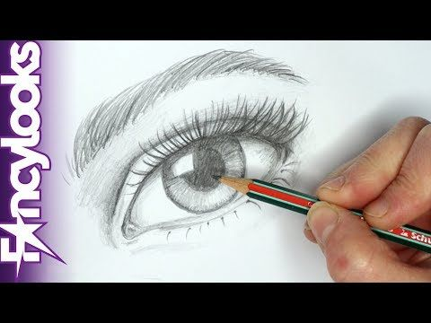 Como Dibujar Un Ojo Realista Con Lapiz Paso A Paso Youtube Eye Drawing Youtube Art Drawings