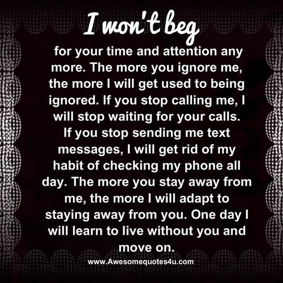 Awesome Quotes: One Day I Will Move On…: