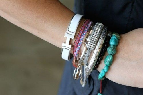hermes crocodile kelly bag - Hermes Enamel Bracelet Celebrities | Bracelets | Pinterest ...