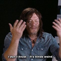 "reedusnorman: "" what Norman Reedus thinks of ""Norman Reedus"" cosplayers """