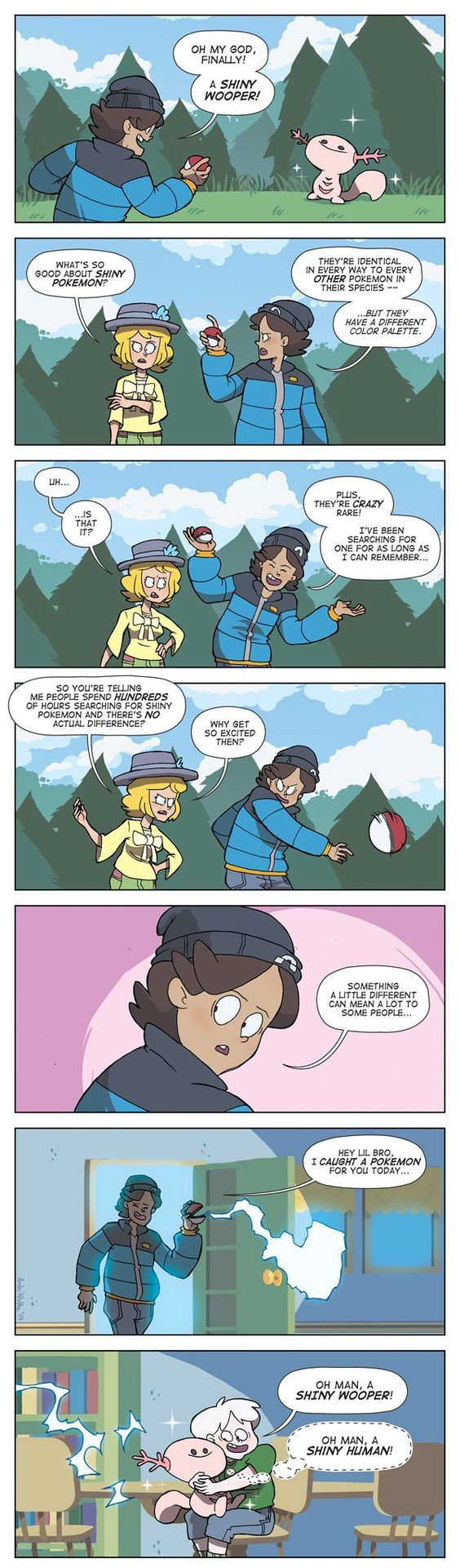 """""""The One Trainer who has a Reason for Catching Shiny Pokémon"""" #dorkly #geek #pokémon"""