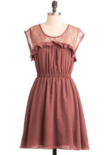 I adore this dress. I need more cute dresses in my life.