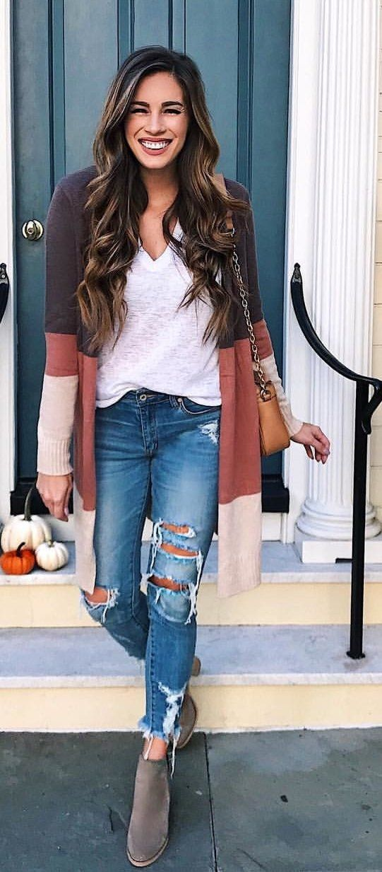 Charming Skinny Pants Outfits