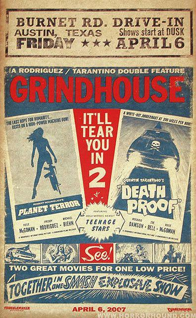 GRINDHOUSE PLANET TERROR DEATH PROOF POSTER by devilsrejects, via Flickr