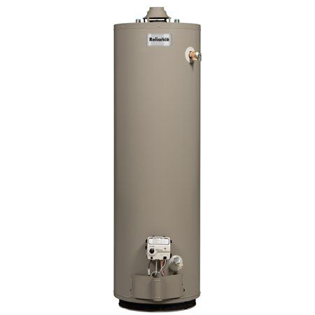 Reliance 6 30 Noct 30 Gallon Gas Water Heater Natural Gas Water Heater Bathroom Plumbing