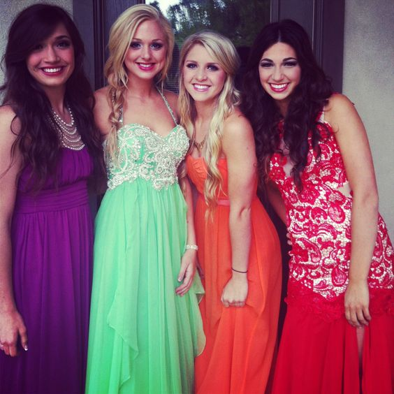Prom//spring colors