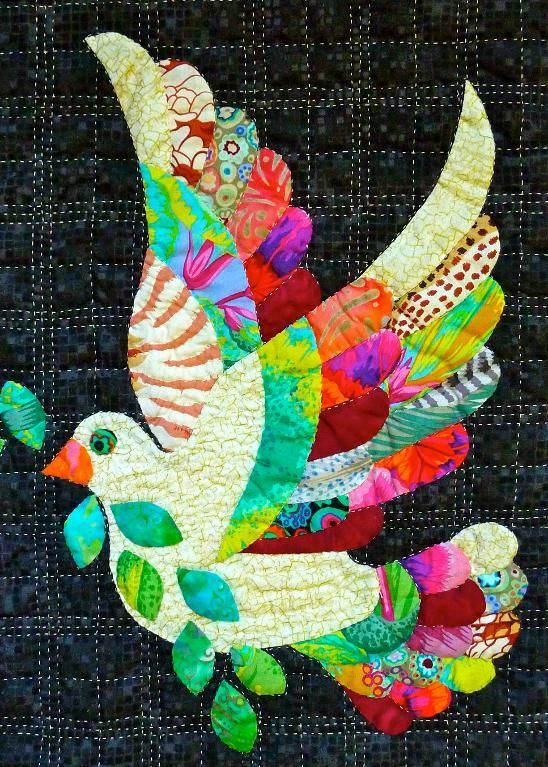 Free Quilt Pattern: Love the Dove: