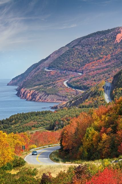 One of the best drives in the world! Cabot Trail, Cape Breton, Nova Scotia: