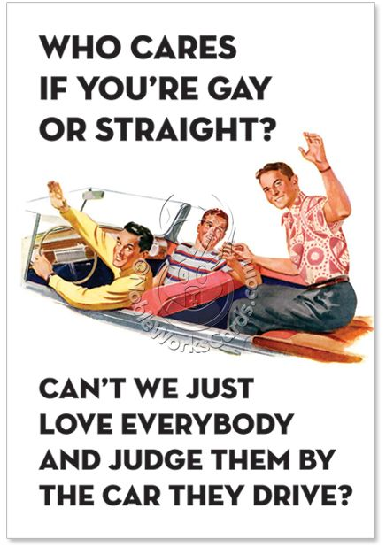 If you re straight or gay