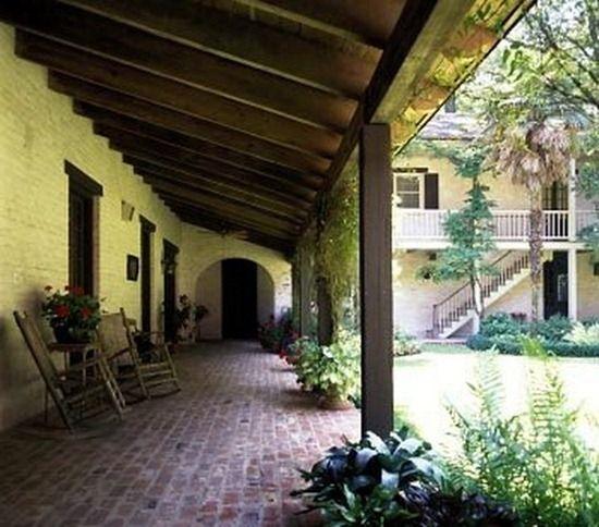 Porch Designed By Louisiana Architectural Icon A. Hays