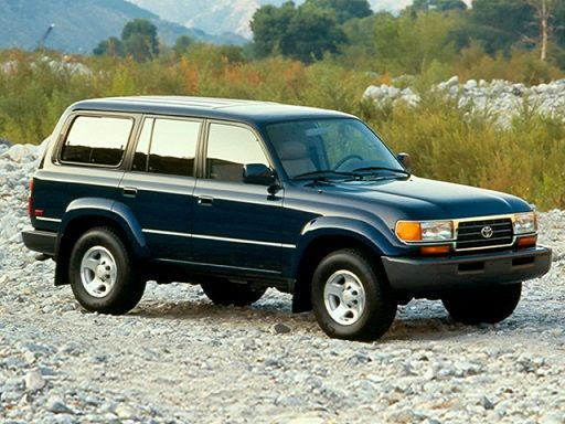 Toyota Land Cruiser 80 (1995 – 1997).