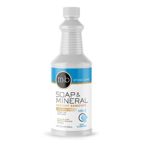 Stone Care Soap Film Hard Water Remover 1 Qt Cleaning