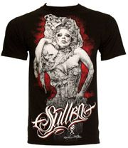 Sullen Victorian Tears T Shirt (Black)
