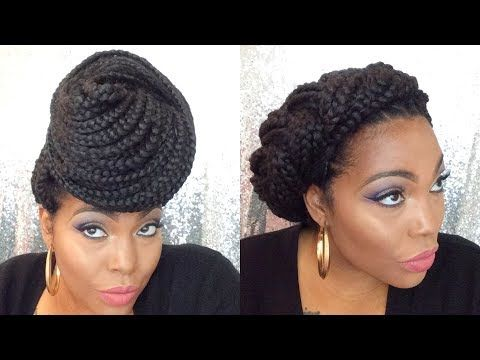 Box Braids Hairstyles Special Occasion Youtube Box Braids Hairstyles Braided Hairstyles Easy Box Braids Styling