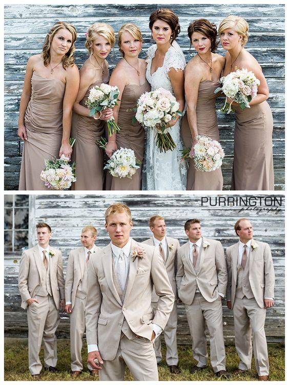 Wedding Party Photography: Samantha And Drew's Bemidji Wedding!