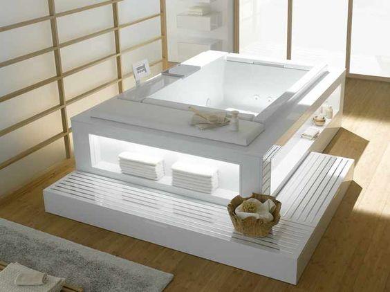 medidas de un baño con jacuzzi  HIDROMASAJES Y COLUMNAS ...