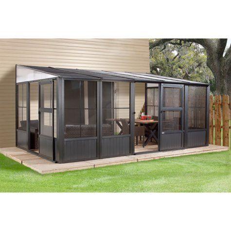 Sojag Charleston Sun Shelter By Sojag 10 X 16 Patio Gazebo Patio Enclosures Sunroom Kits