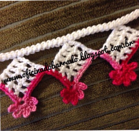 """PAP - Resumido (em ordem decrescente);   Iniciar fazendo o """"Cordão"""" em crochê ...                        ..."""