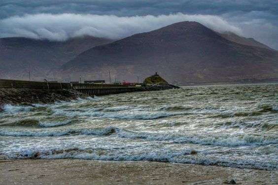 Fenit Pier and Slieve Mish Mountain, Co. Kerry  Rob Fox