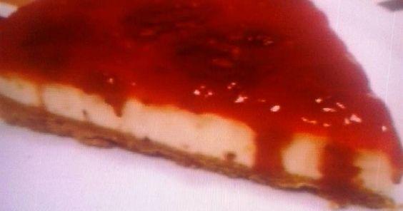 Fabulosa receta para Tarta de queso . sin horno