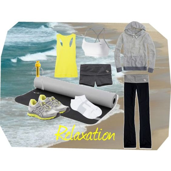 Relaxation, created by hayleejade3 on Polyvore